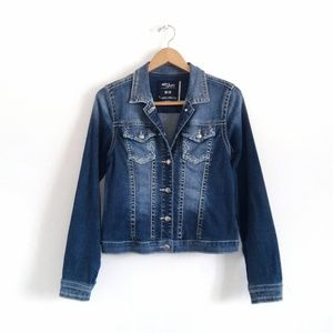 Silver Jeans Blue Denim Jean Jacket